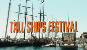 Alpha Gamma Sigma sets sail with the Ocean Institute at the Tall Ships Festival